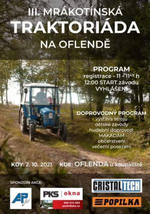III. Mrákotínská traktoriáda na Oflendě 1